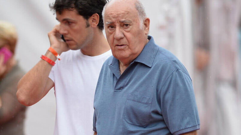 Амансио Ортега основатель Zara