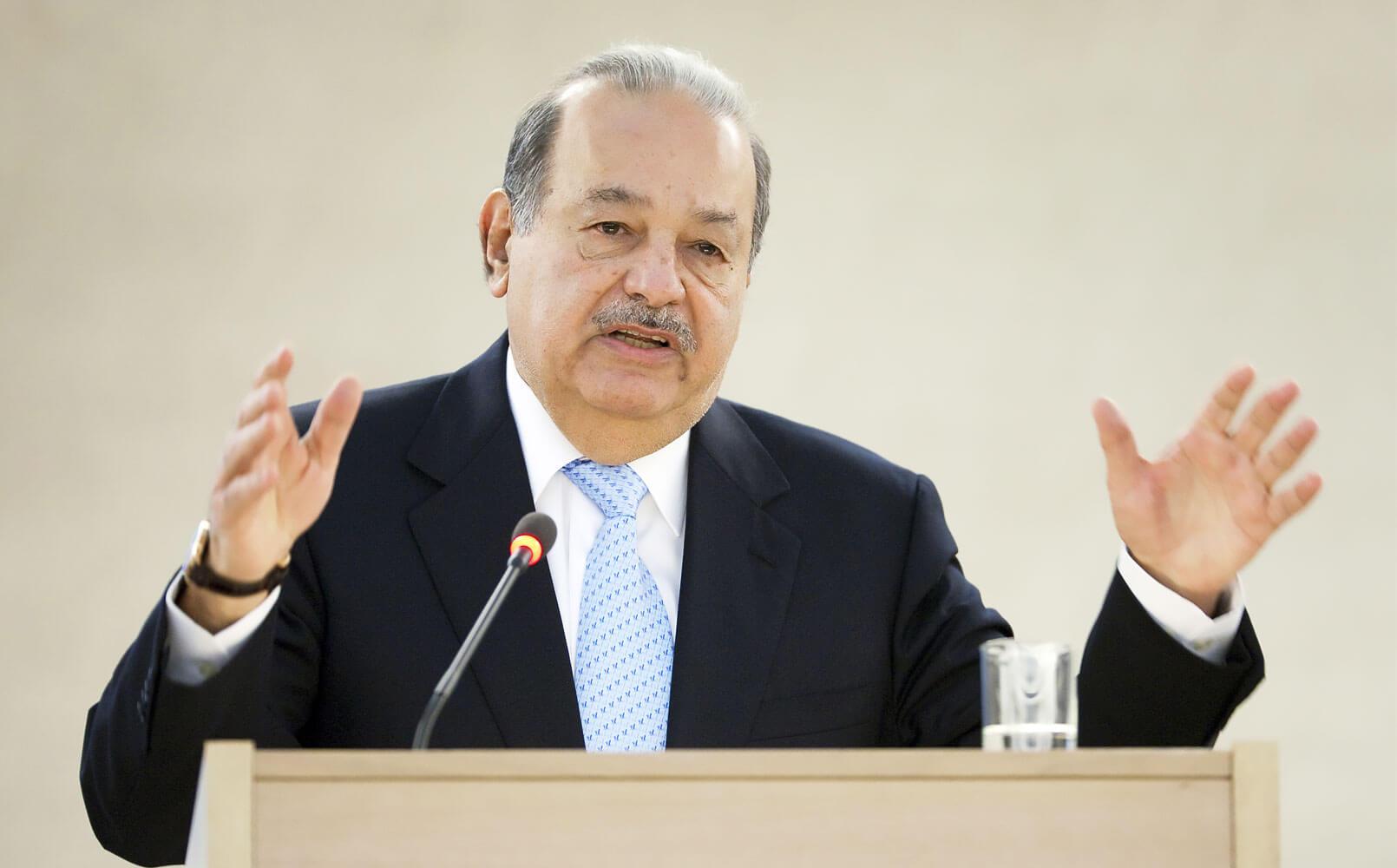Карлос Слим Элу Мексика