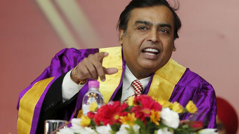 Мукеш Амбани Mukesh Ambani владелец Reliance Industries
