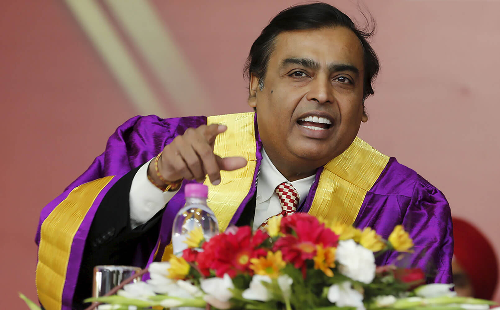 Мукеш Амбани Mukesh Ambani владелец Reliance Industries